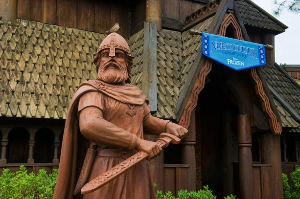 Frozen'-Inspired Norsk Kultur Gallery at Epcot