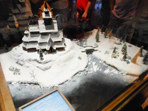 The Frozen village.