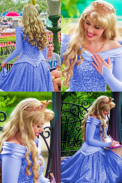 We think the Disney Princess costumes are the best!  This is Princess Aurora.