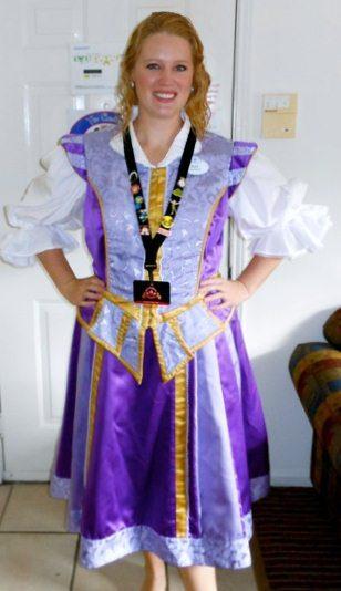 One of my Magic Kingdom costumes.