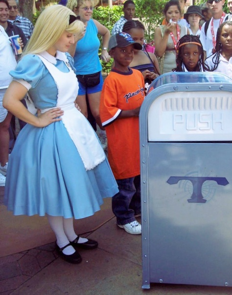 Alice with Push the Trashcan (look him up!)