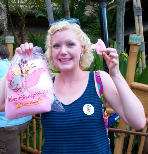 We love WDW cotton candy!
