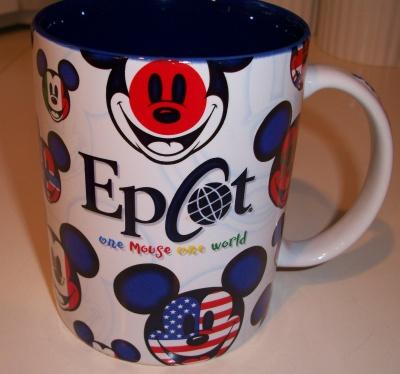 One Mouse, One World mug.