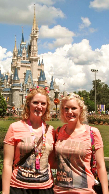You're definitely a CP if you have dozens of photos taken in front of the Castle!  :)