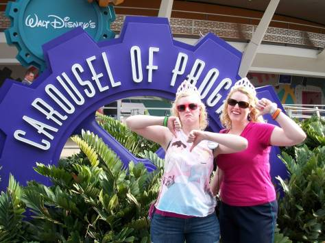 Not our favorite ride at the Magic Kingdom!