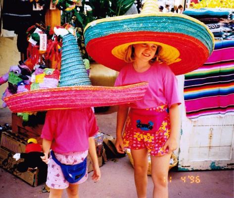 Epcot Mexico, 1996.