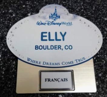 3rd name tag in 3 months!!!