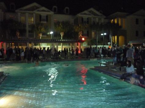 Not touching that pool water!!!