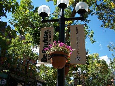 A perfect late summer day on Pearl Street Mall in Boulder.