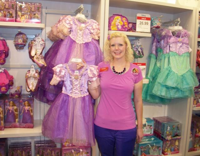 Disney Bounding as Rapunzel at work.