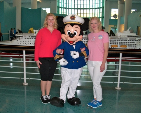 Disney Dream:  Captain Mickey