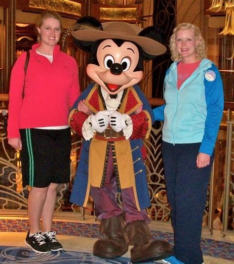 February 2014:  Pirate Mickey