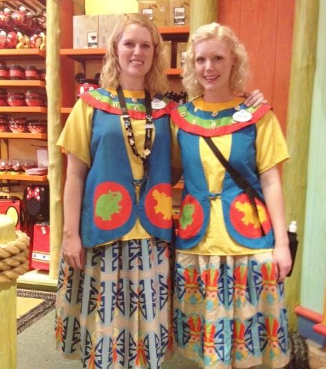 DAK merchantile costumes.