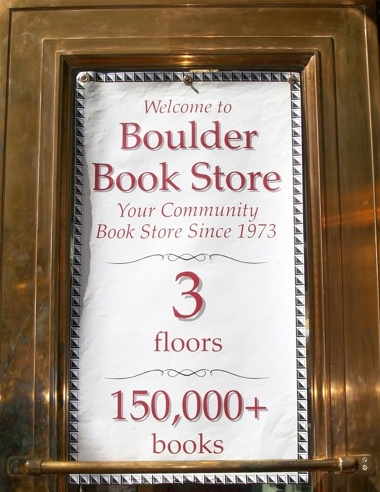 Best bookstore in Boulder!