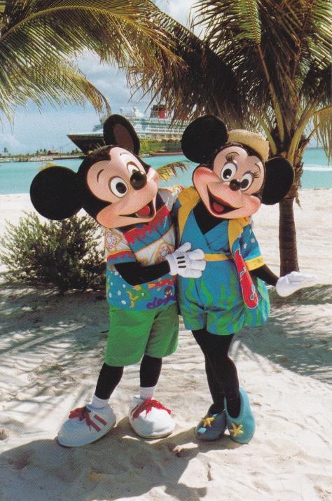 Castaway Cay Mickey