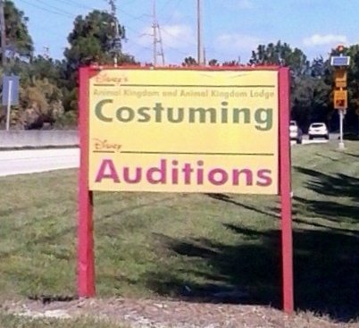 The WDW Costuming locations are impossible to find unless you know where you're going or (as a guest), you get lost!