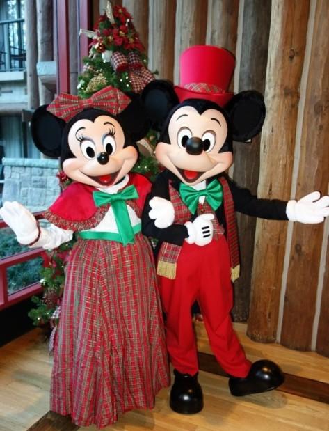 December:  Winter Ball Mickey
