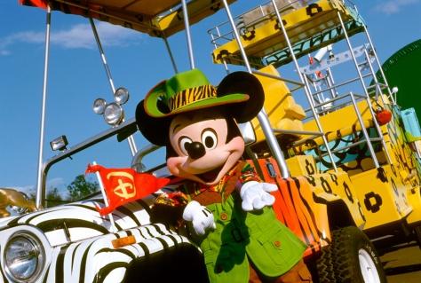 DAK Jungle Jammin' Parade Mickey