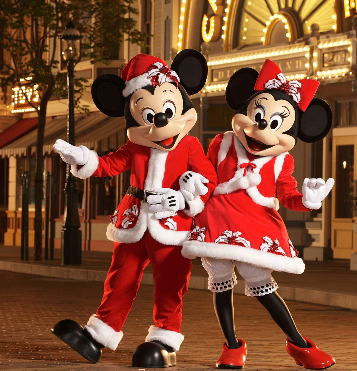 very merry christmas party mickey