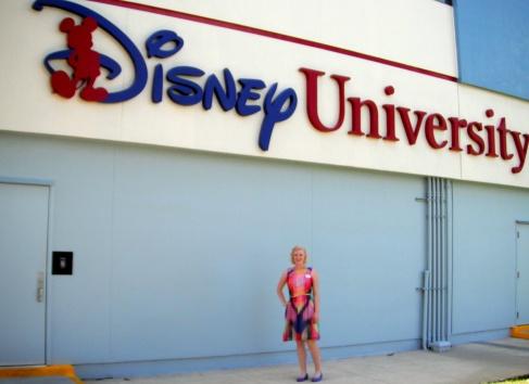 First week: Wearing the Disney Look, aka