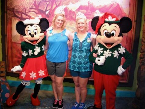December:  Christmas Mickey
