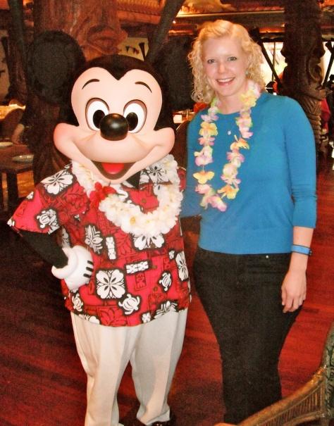 Polynesian Mickey