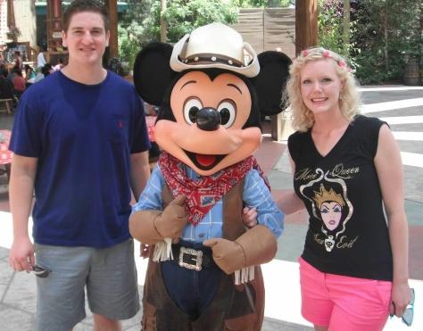 June: Frontierland Mickey