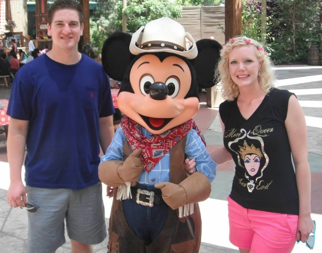June: Frontierland Mickey