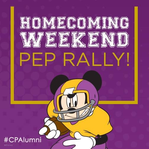 October 2014:  Homecoming Weekend!