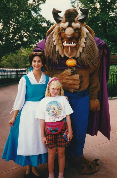 Meetin the Beast and Belle at France.