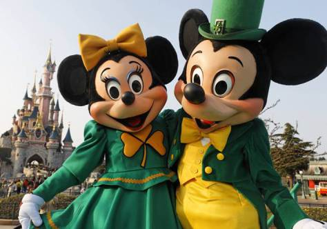 March:  St. Patrick's Day Mickey