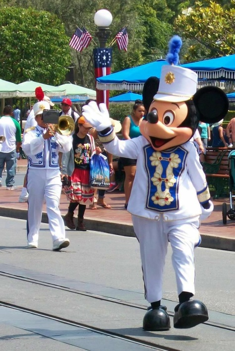 Main Street Parade Mickey
