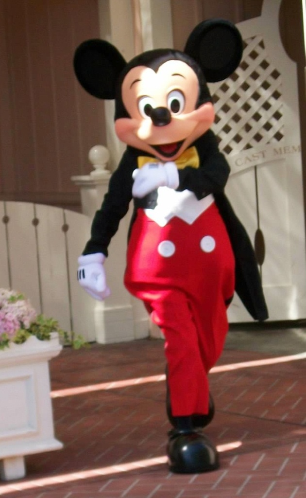 Skipping through the Park Mickey
