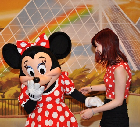 Minnie Mouse.  (We've seen versions of this a lot!)