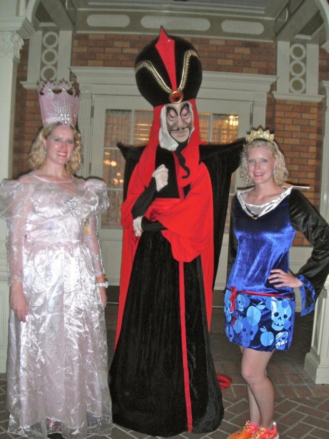 Caroline loves the Disney villians!