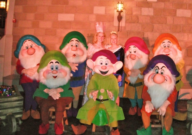 Got to meet all 7 dwarves!