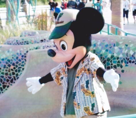 Big hug Mickey