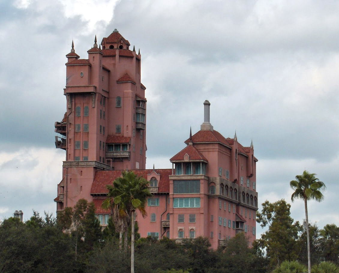 Backstage Tour of Tower of Terror   Elly and Caroline's ...