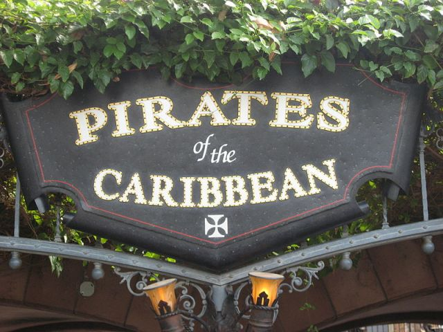 Pirates of the Caribbean definately has the most skulls and bones!!