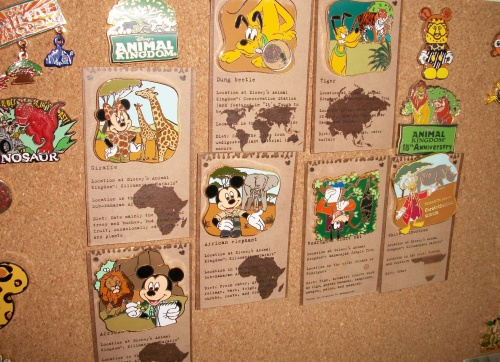 Very exclusive conservation pins