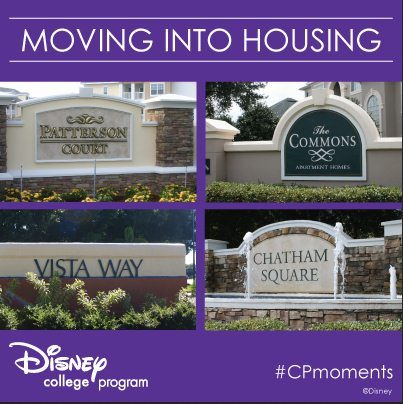 The four WDW Disney housing complexes.