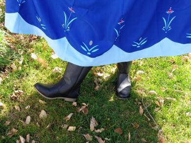 Anna's boots!