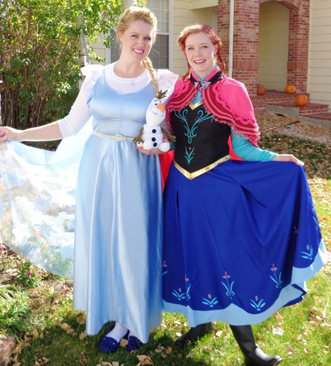 Queen Elsa & Princess Anna!