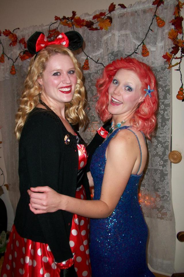 Disney Bounding Two DIsney Sisters Halloween