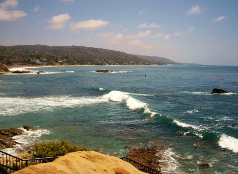 Our favorite California beach - Laguna Beach!