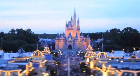 A magical day at the Magic Kingdom.
