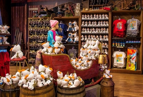 Frozen Olaf's as far as the eye can see...