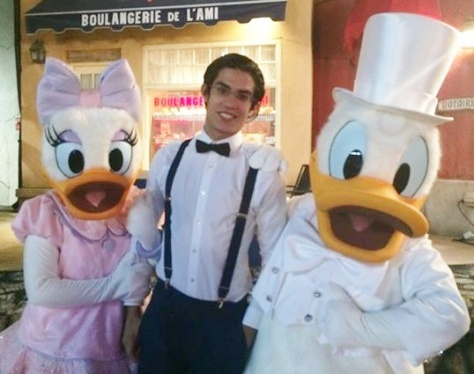 Donald and Daisy were there too!
