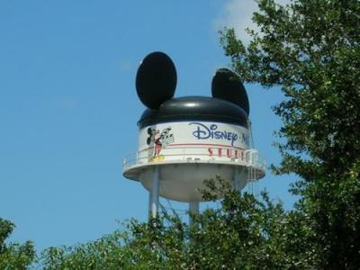 The Hollywood Studios water tower.