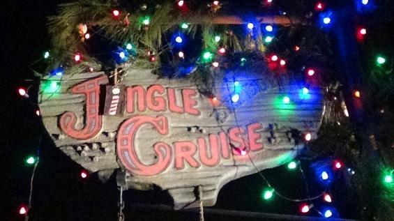 The Jingle Cruise is even fun at night!